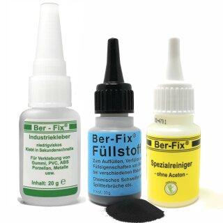 Ber-Fix® Füllstoff Set Standard schwarz