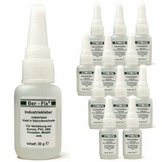 Ber-Fix® Industriekleber mittelviskos 12x 20g